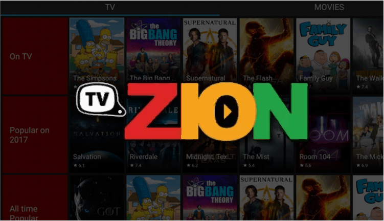 download tvzion and install it