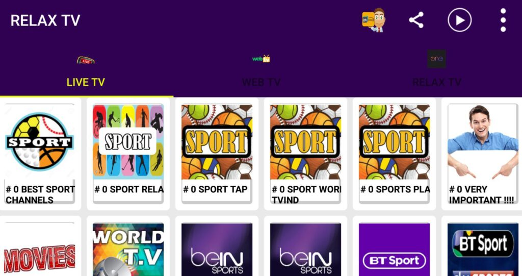 download relax tv for android